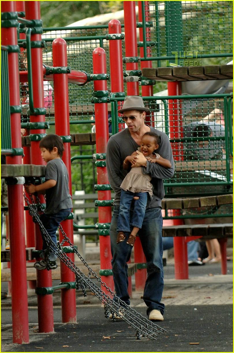brad pitt kids playground 02547421