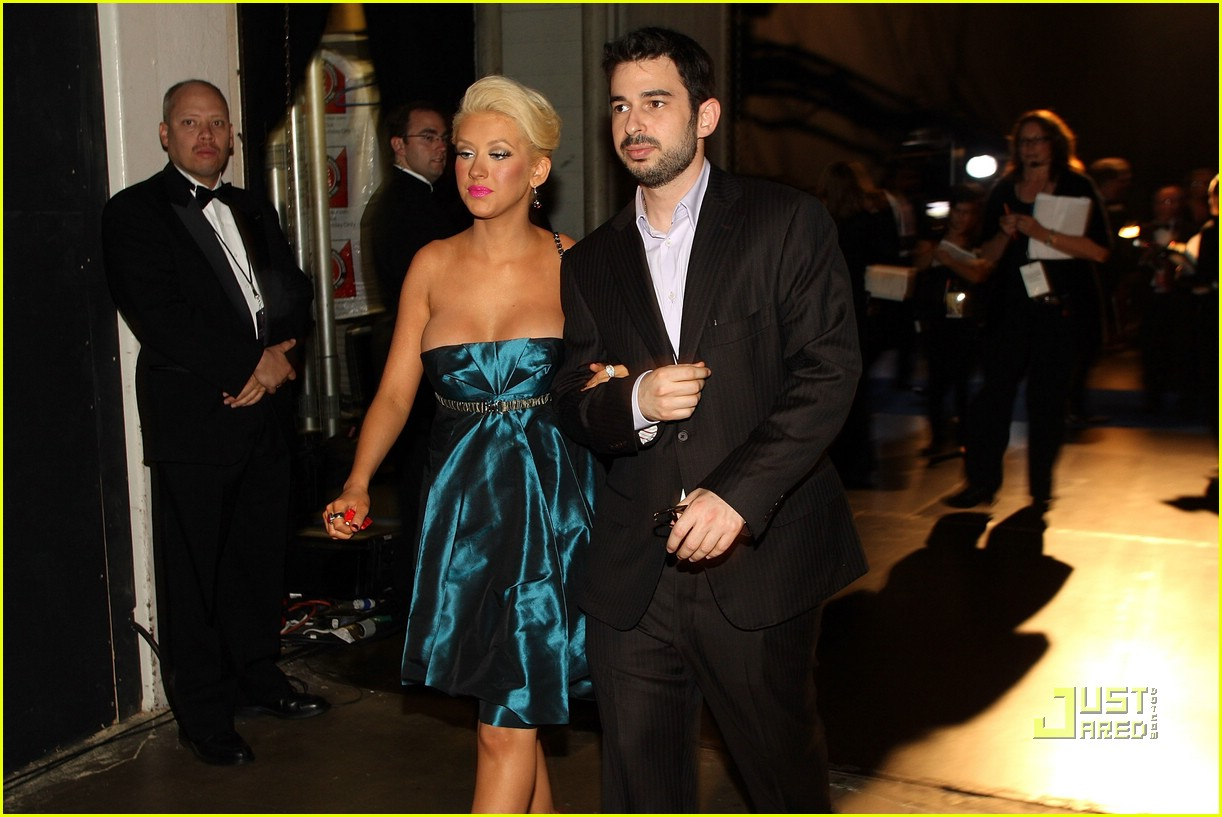 christina aguilera son 03
