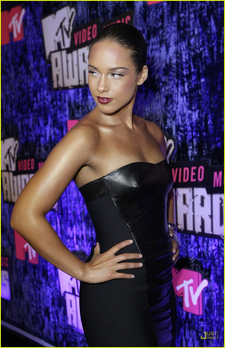 Alicia Keys VMAs 2007