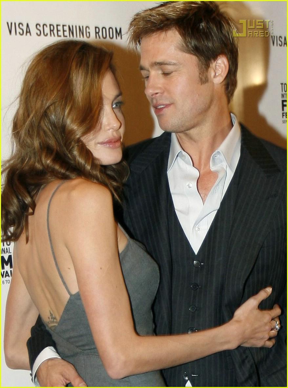 Angelina jolie brad pitt threesome