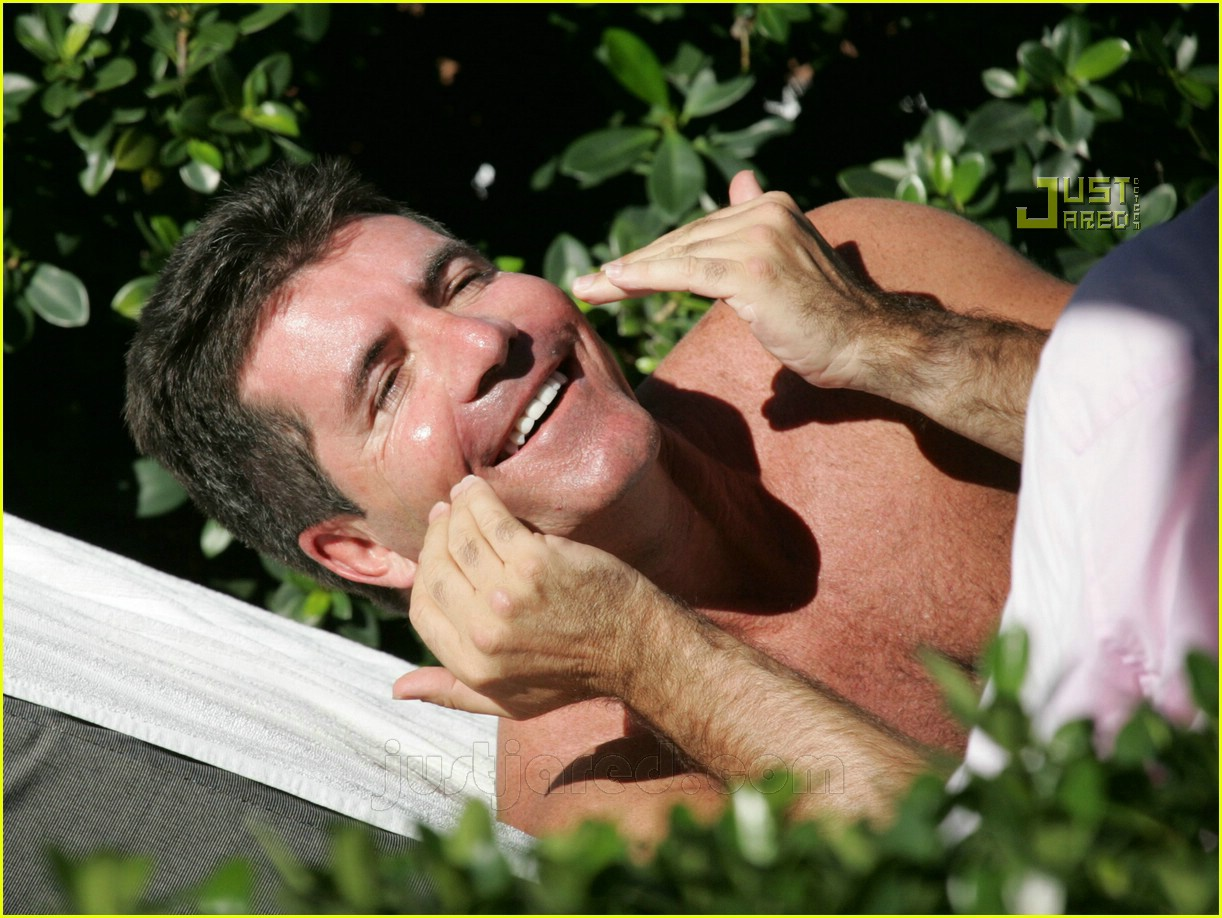 simon cowell shirtless 03621451