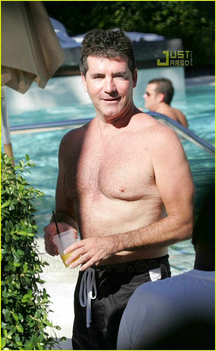 simon cowell shirtless 05
