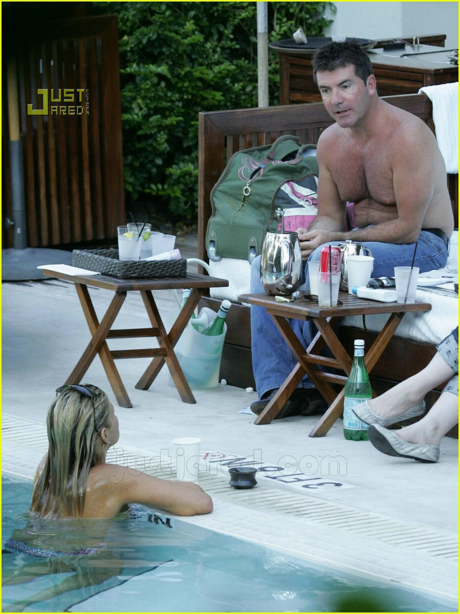 simon cowell shirtless 07621491