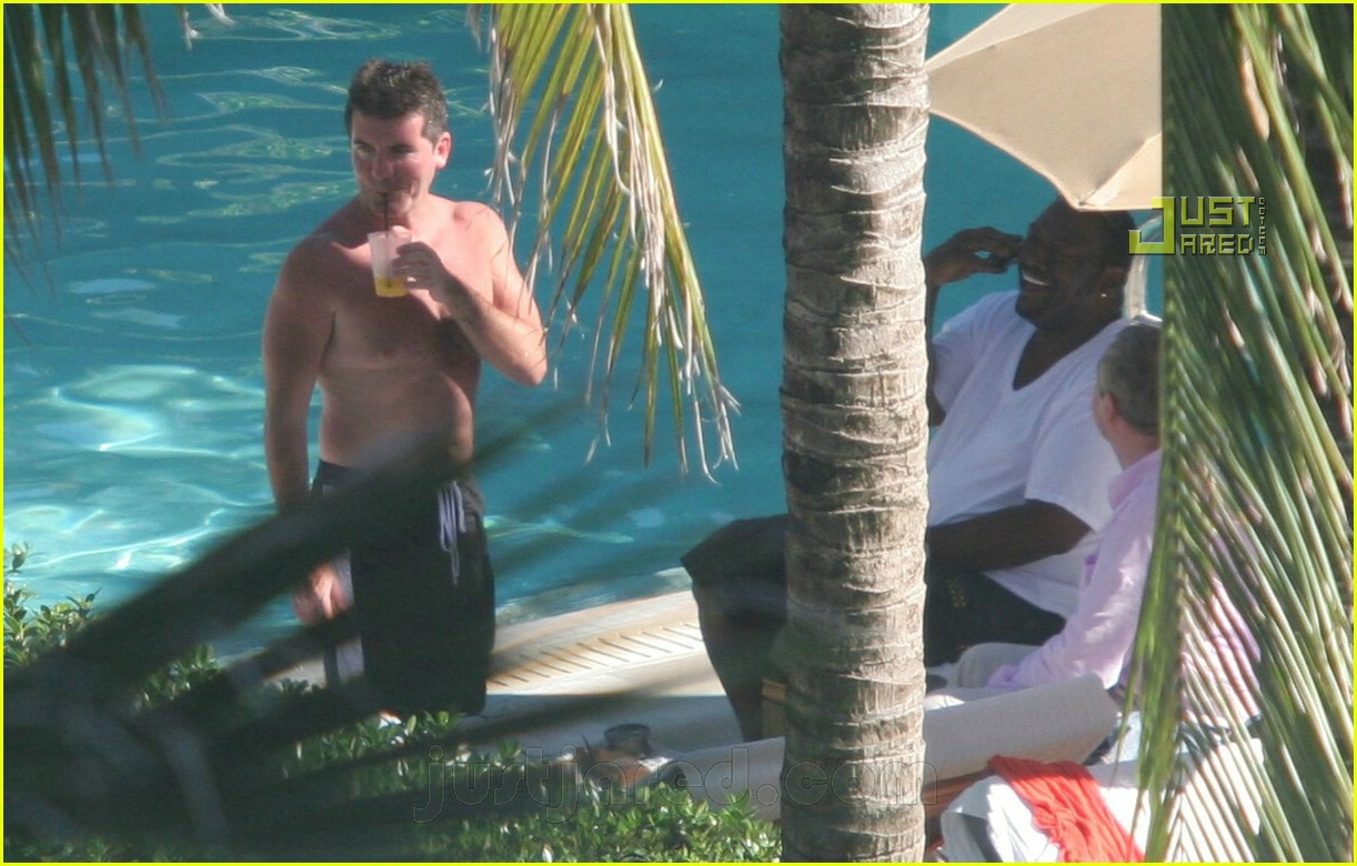 simon cowell shirtless 13