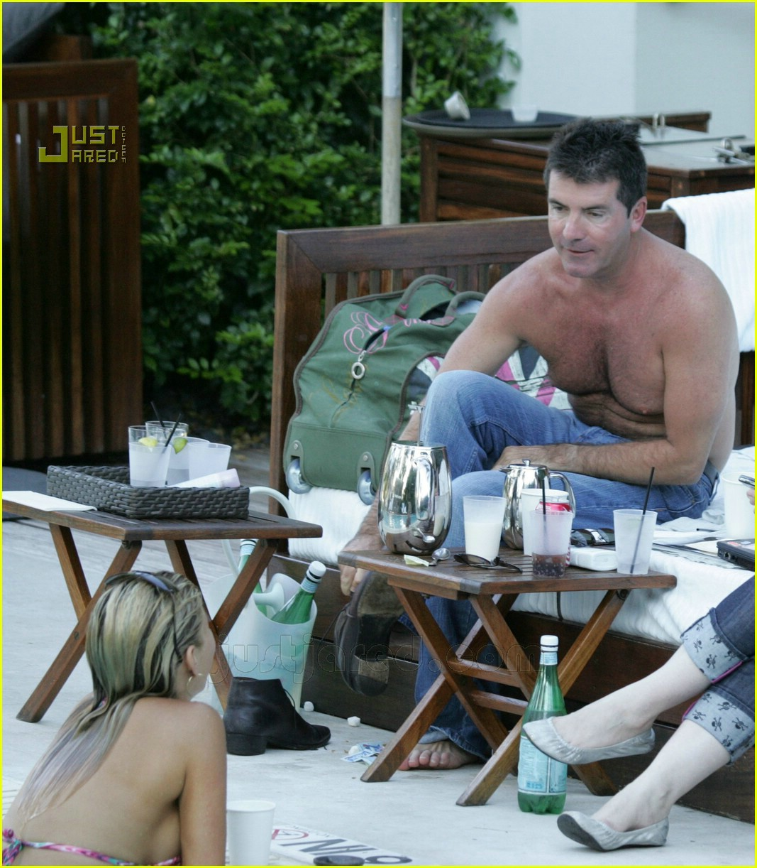 simon cowell shirtless 21621631