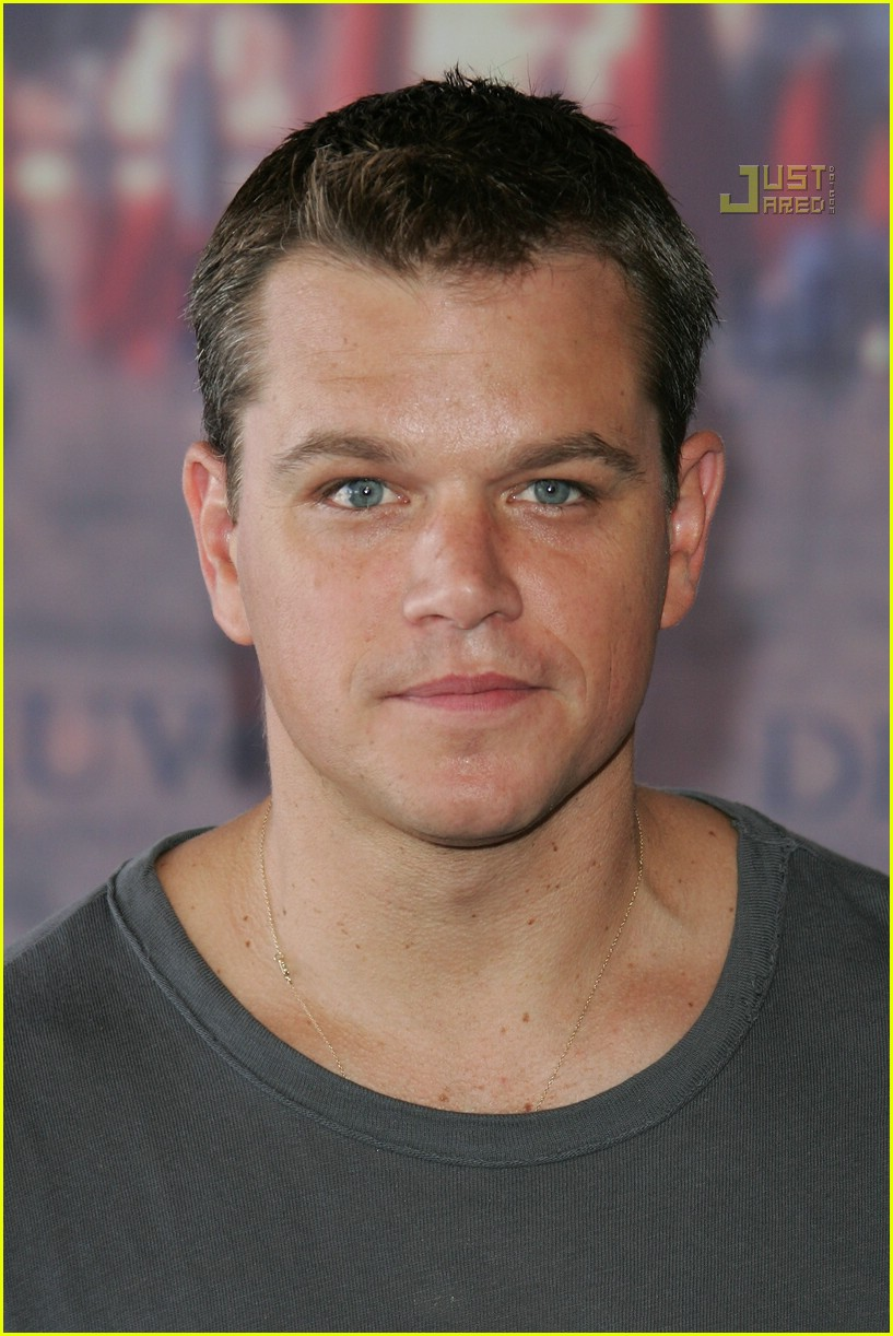 matt damon рост