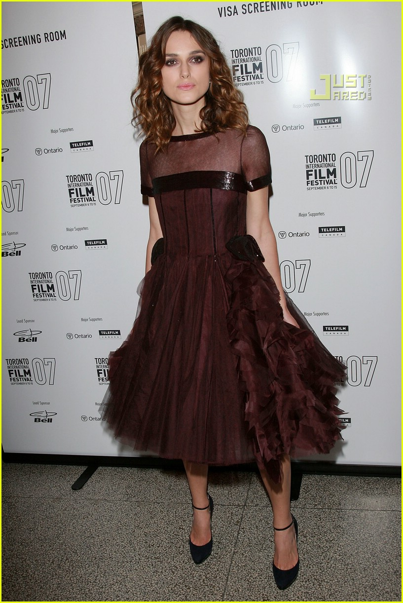 pictures Toronto Film Festival's Best Dressed: Keira Knightley's Double Hit