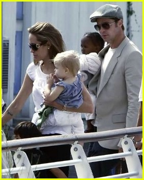 brad angelina water taxi ride 31562231