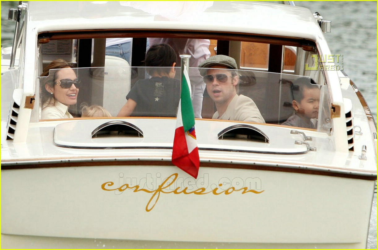 brad angelina water taxi ride 37562291