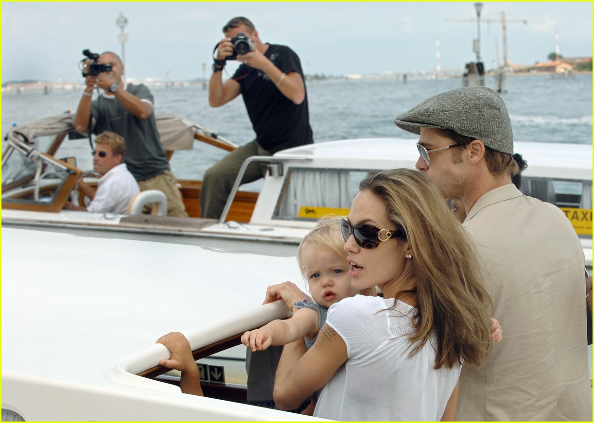 brad angelina water taxi ride 46562381