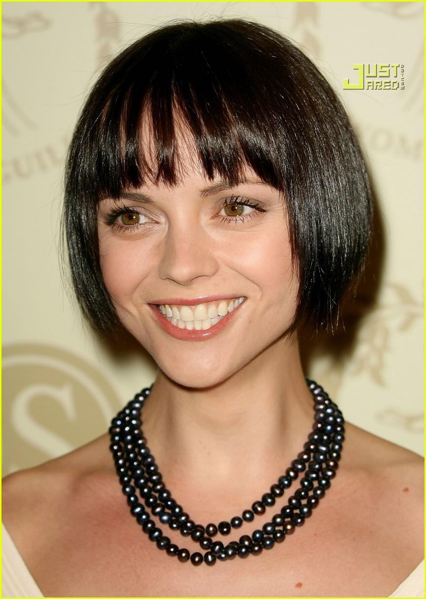 coil hairstyles : Christina Ricci Has Super Short Hair