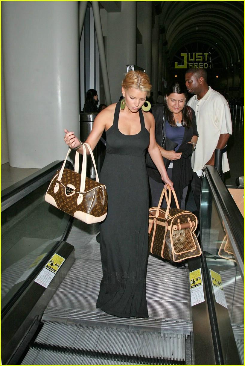 jessica simpson ny fashion week 2007 01565871