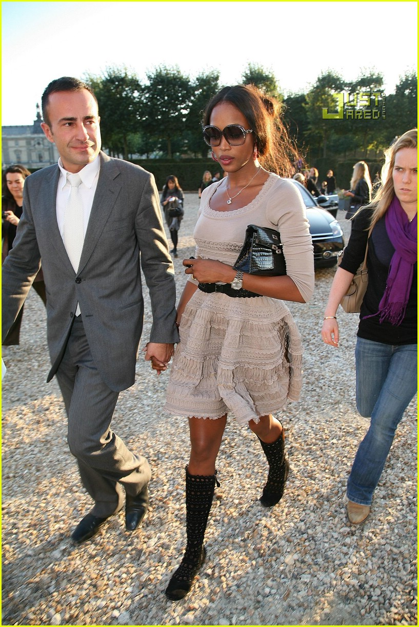 Naomi Campbell's Azzedine Alaia Gown: Better as a Mini? on ...  Naomi Campbell Alaia Dress