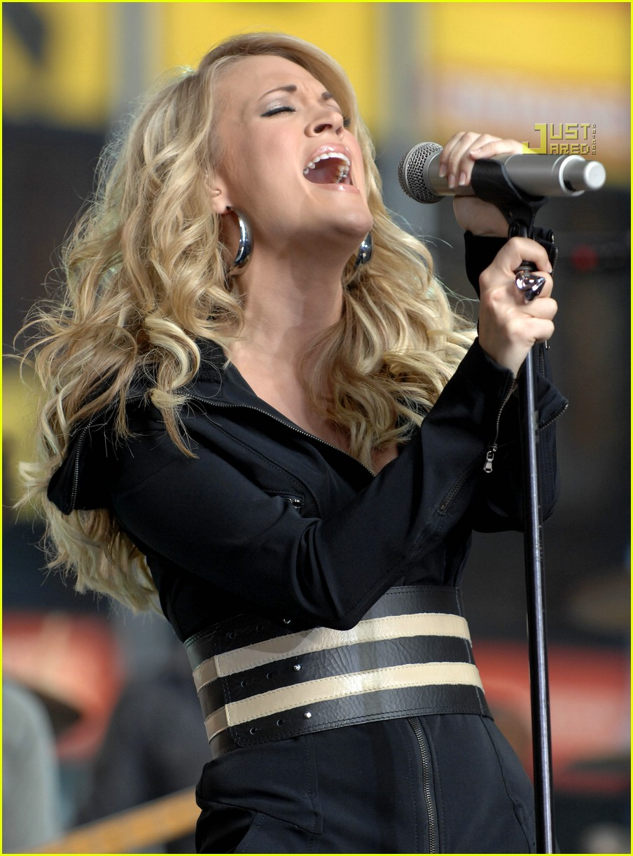 carrie underwood good morning america 11