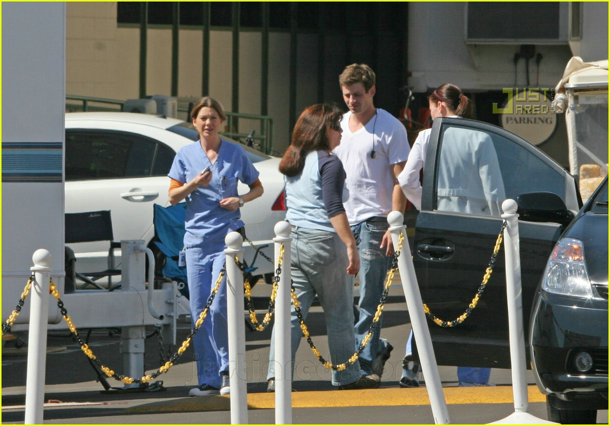 Grey\'s Anatomy Cast: Smokers \'R\' Us: Photo 627881 | Celebrity Babies ...