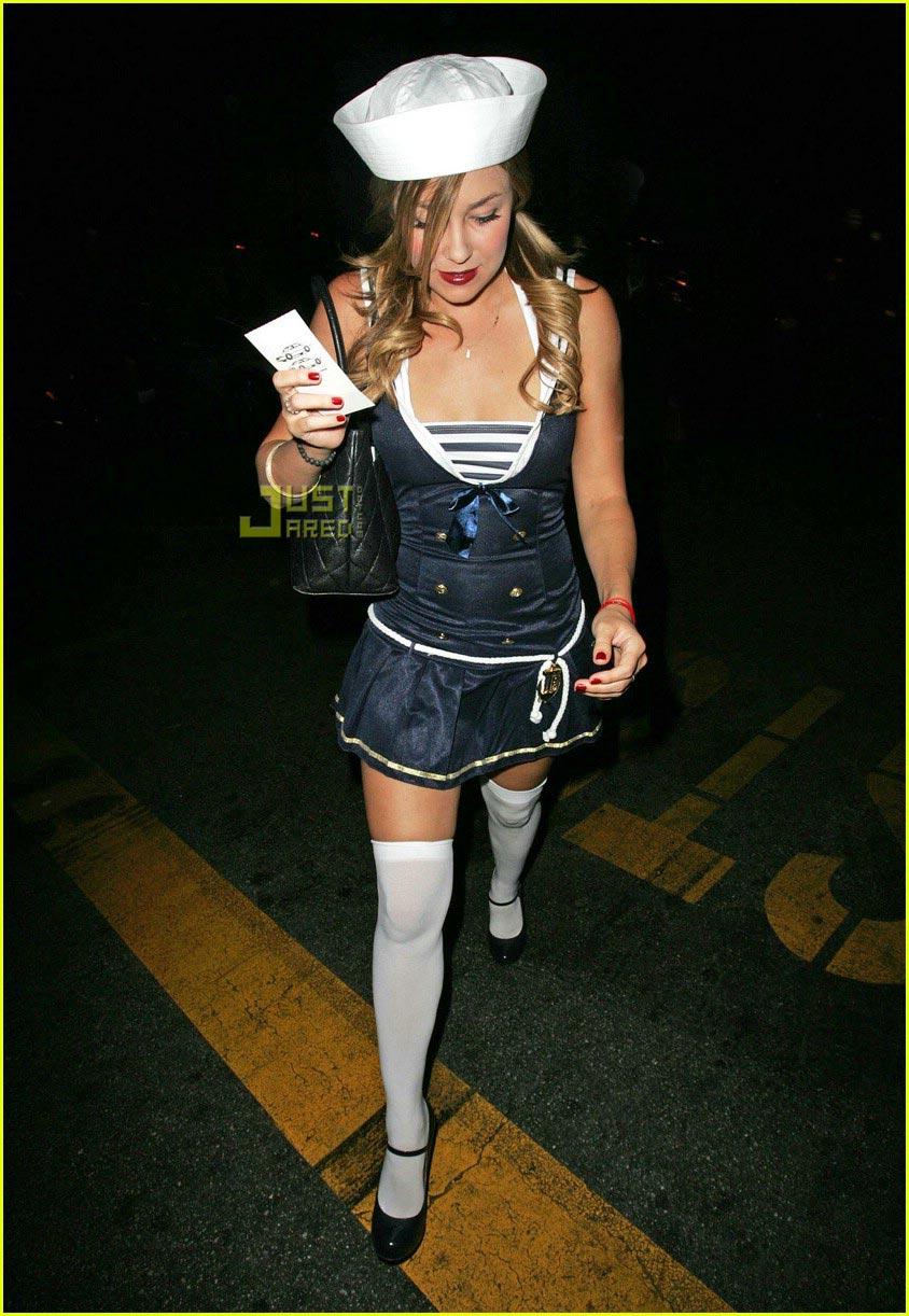 paris hilton lauren conrad sailor costumes 01699441  sc 1 st  Just Jared & Fashion Faceoff: Sailor Suit Costume: Photo 699441 | Lauren Conrad ...