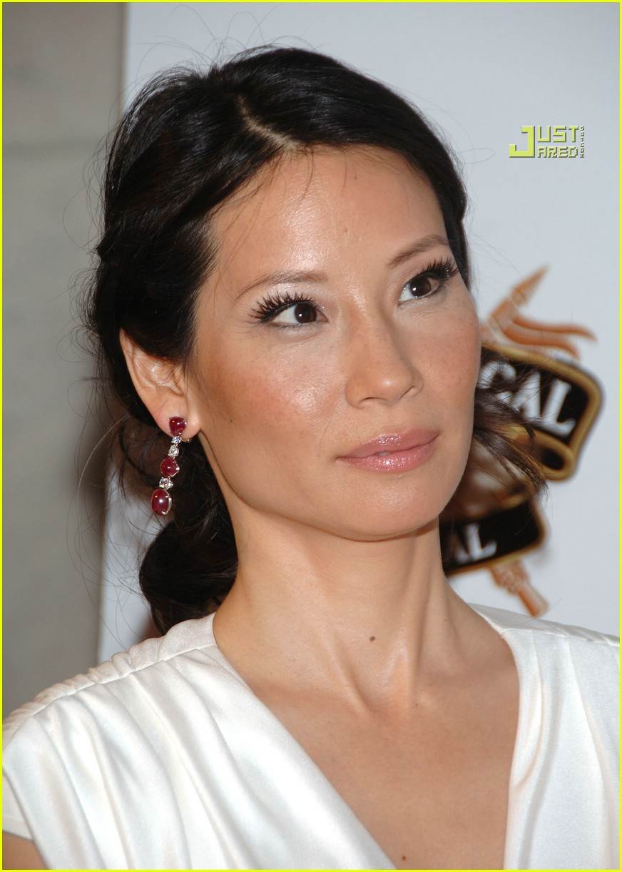 Lucy Liu Downs Some Whiskey Photo 626401 Lucy Liu Pictures Just