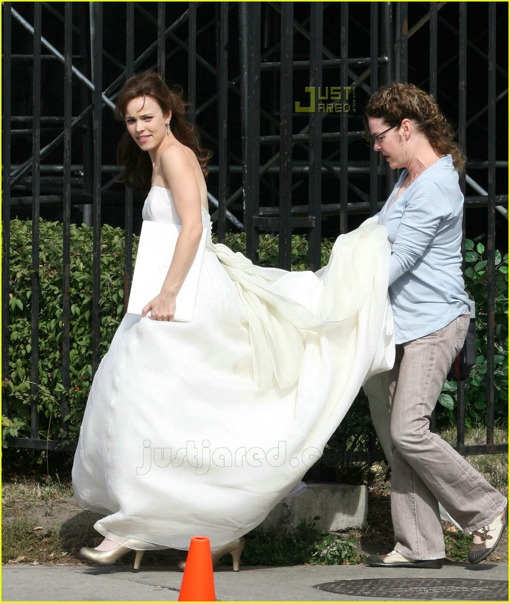 Rachel McAdams\' Wedding Dress: Photo 624341 | Celebrity Babies, Eric ...