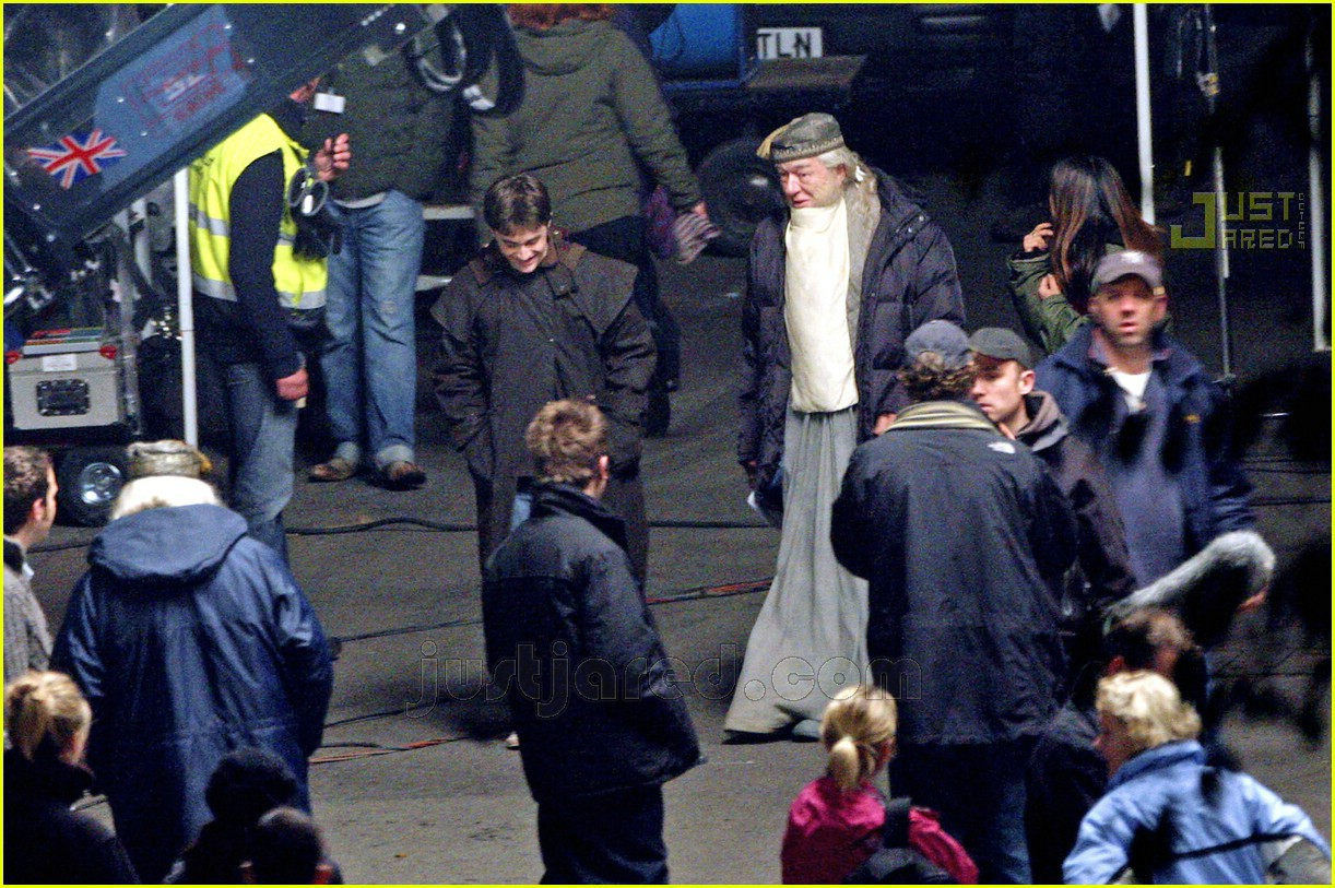harry potter half blood prince movie set 08