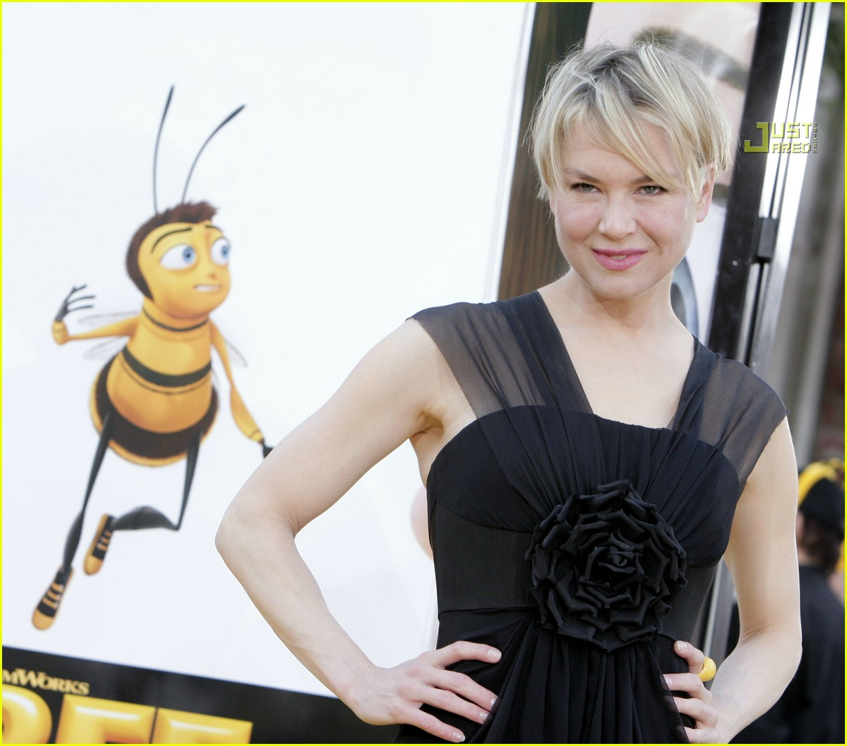renee zellweger bee movie premiere 35