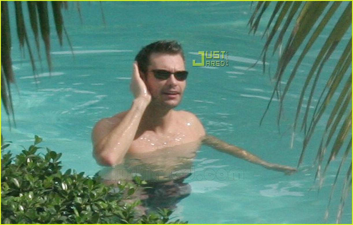 ryan seacrest simon cowell shirtless 05