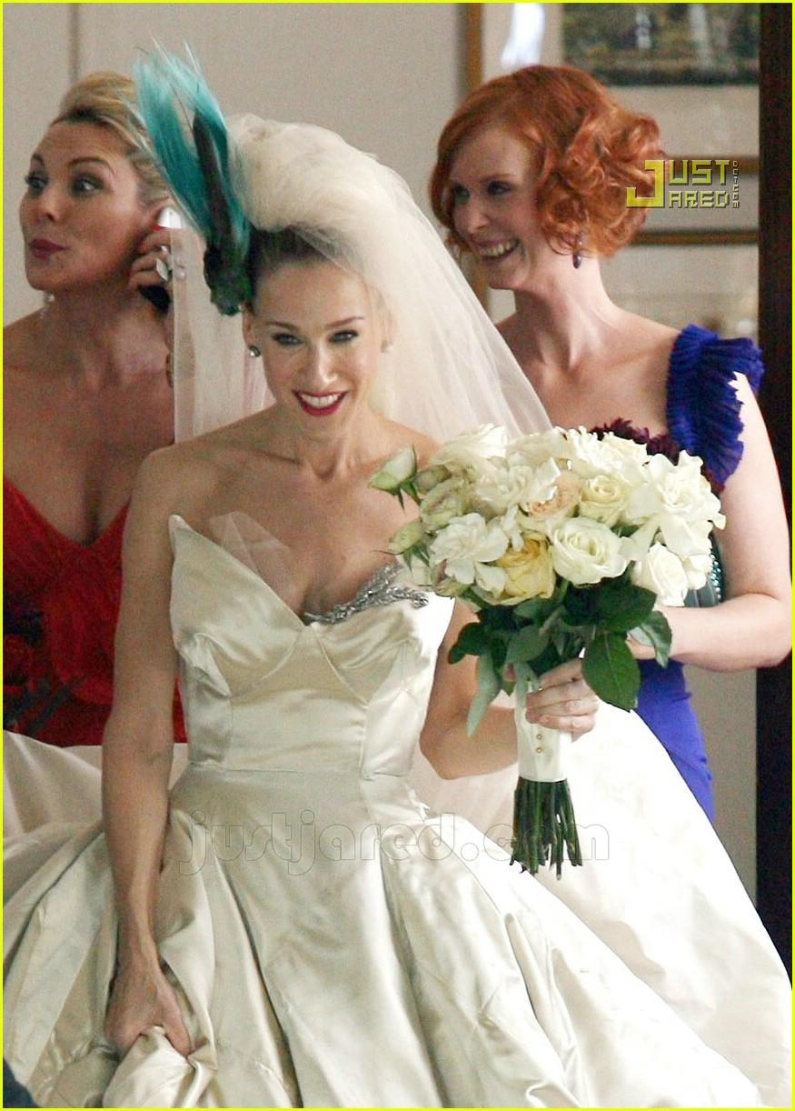 sarah jessica parker wedding dress 04626851