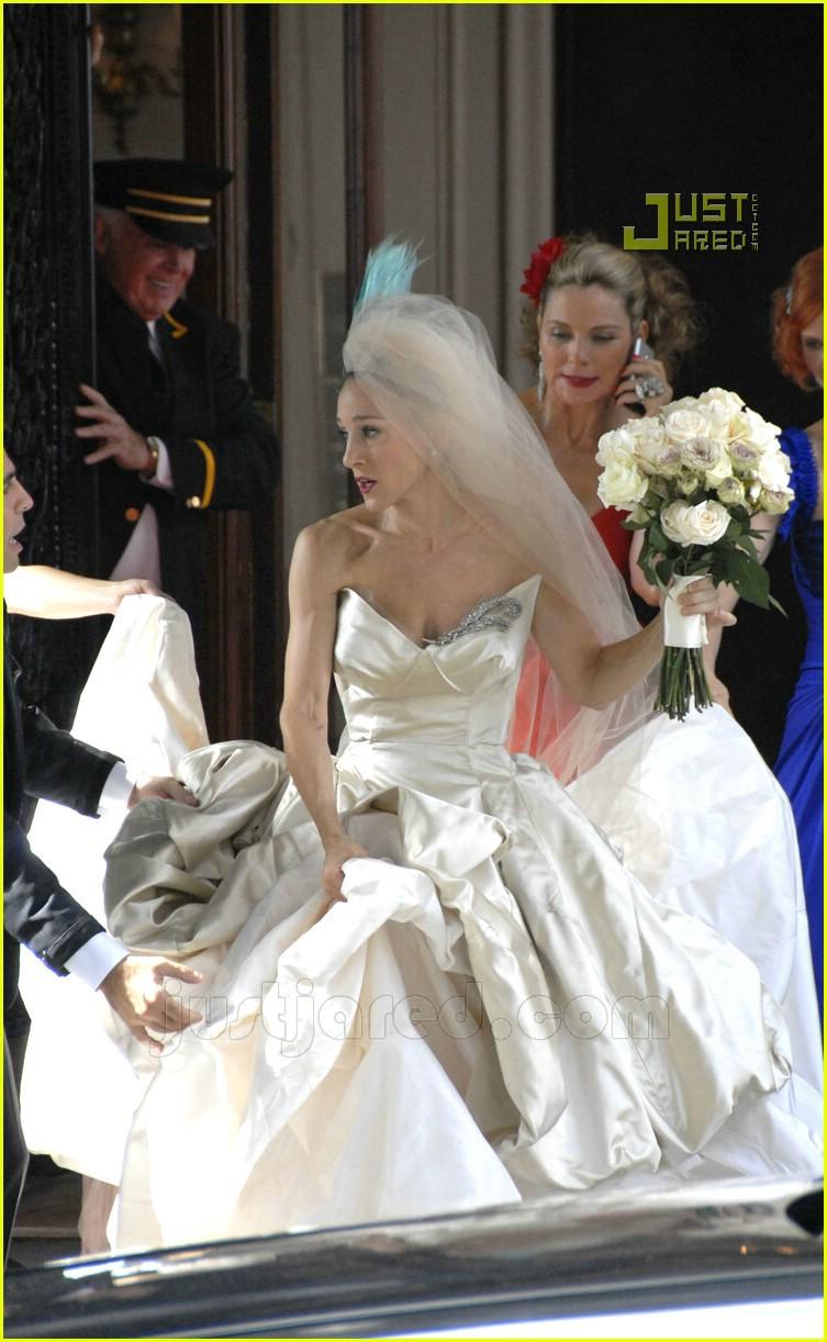 Full sized photo of sarah jessica parker wedding dress 07 for Sarah jessica parker wedding dress