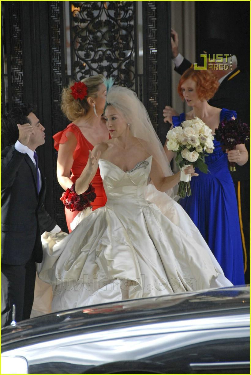 sarah jessica parker wedding dress 08626891