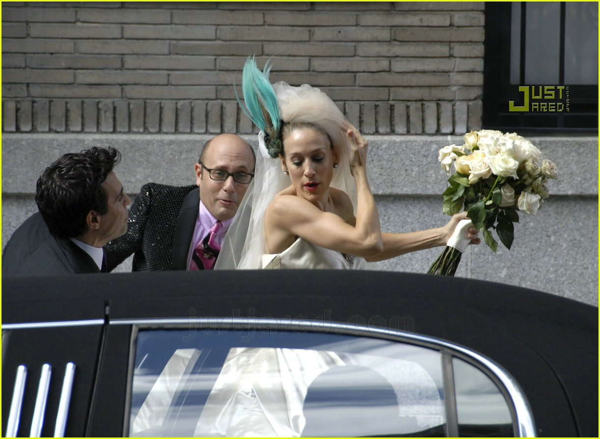 sarah jessica parker wedding dress 10626911