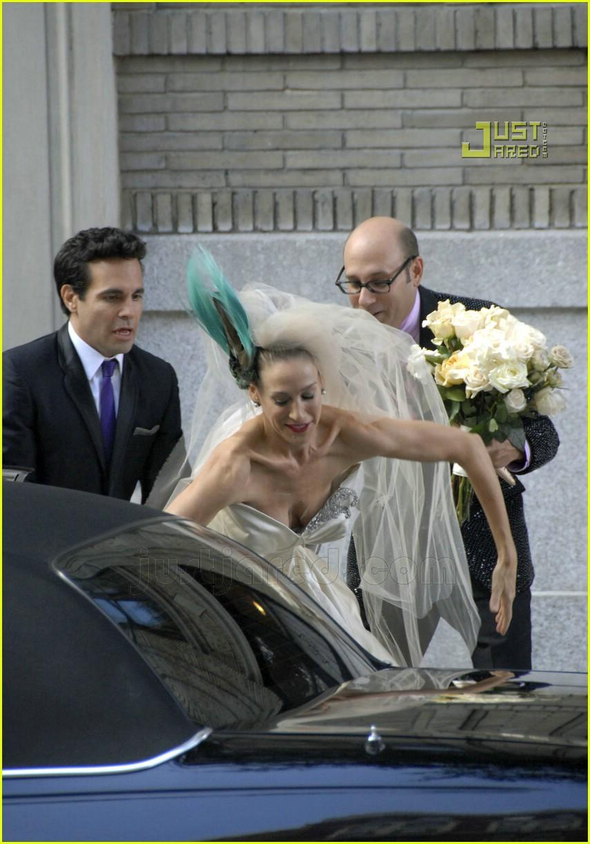 sarah jessica parker wedding dress 12626931