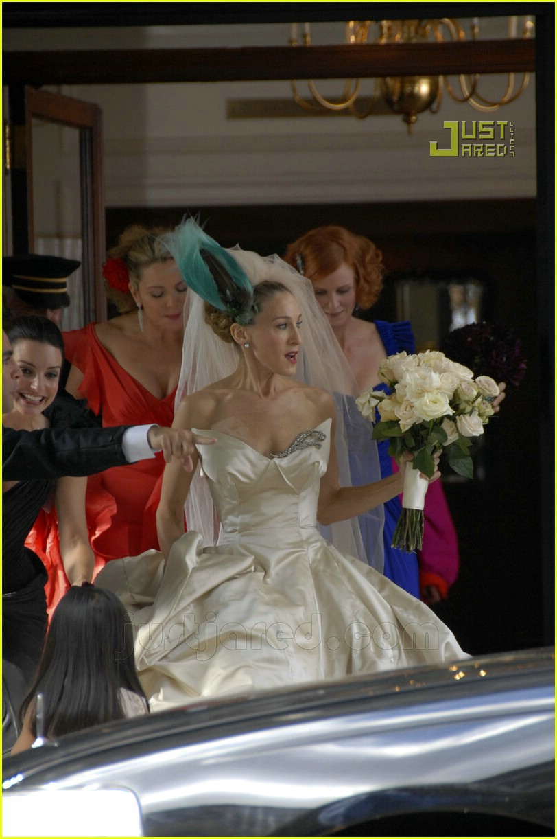 sarah jessica parker wedding dress sex and the city in Launceston
