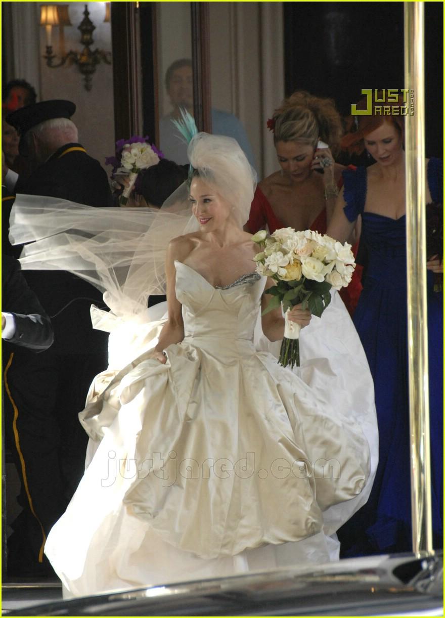 sarah jessica parker wedding dress 17626981