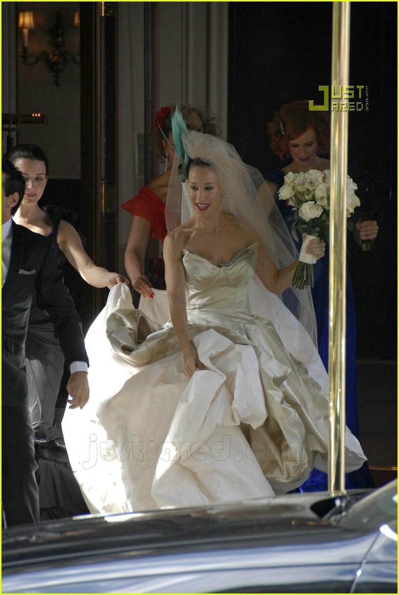 sarah jessica parker wedding dress 18626991