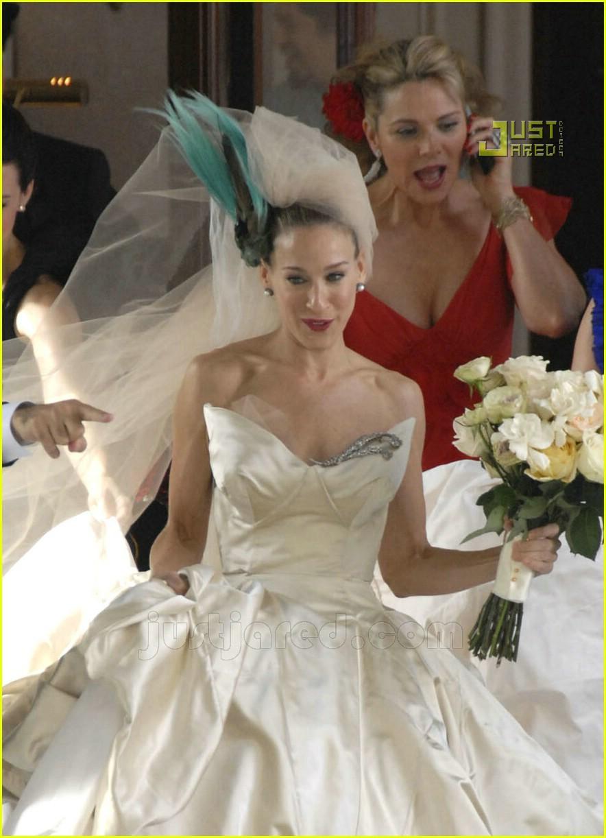 sarah jessica parker wedding dress 19627001