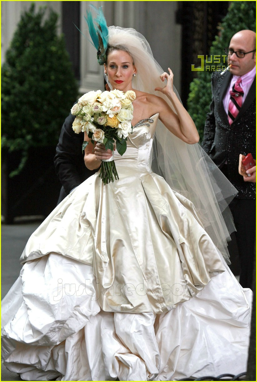 sarah jessica parker wedding dress 21627021