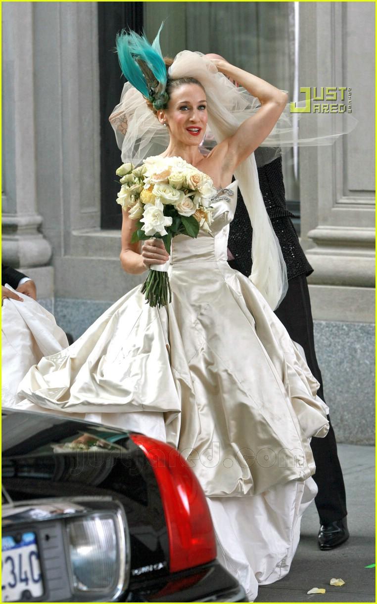 sarah jessica parker wedding dress 24627051