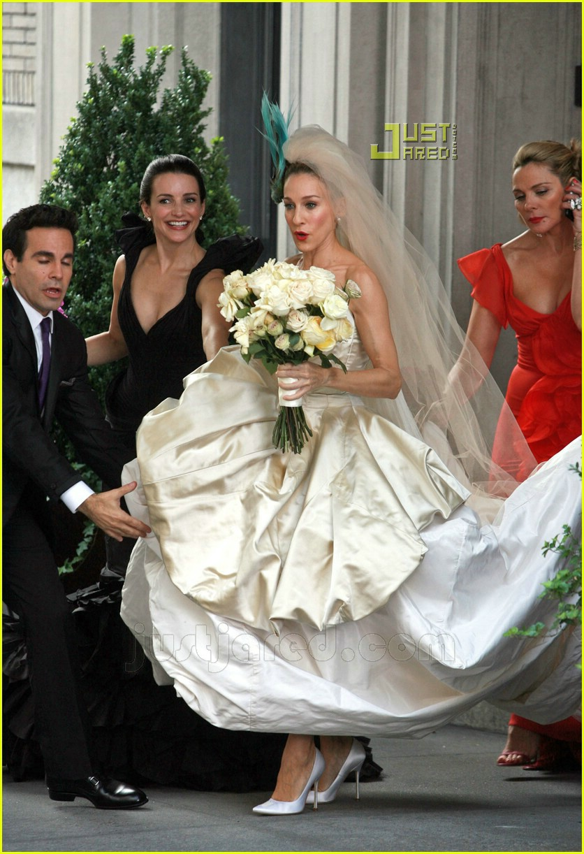 Sarah Jessica Parker Wedding Dress 27627081