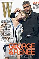 george clooney renee zellweger w magazine 01