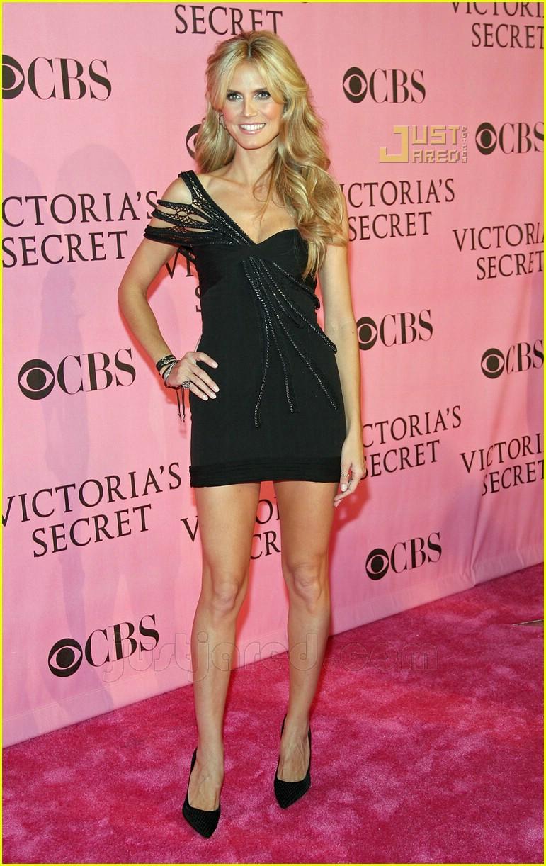 Heidi Klum And Seal Victoria S Secret Pink Carpet