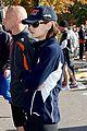 katie holmes running nyc marathon 06