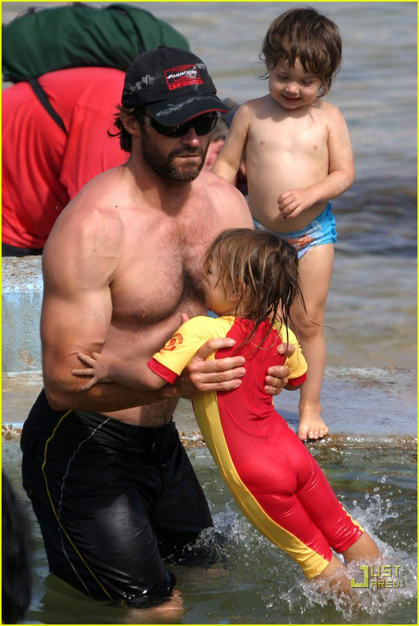 hugh jackman shirtless stallion 05741691