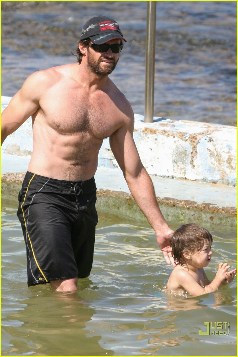 hugh jackman shirtless stallion 06741701