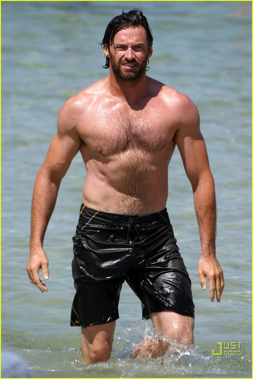 hugh jackman shirtless stallion 07741711