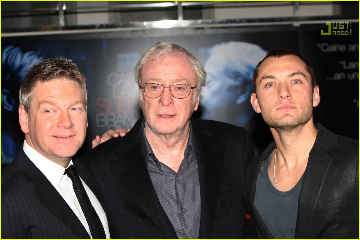 jude law sleuth premiere 08742081