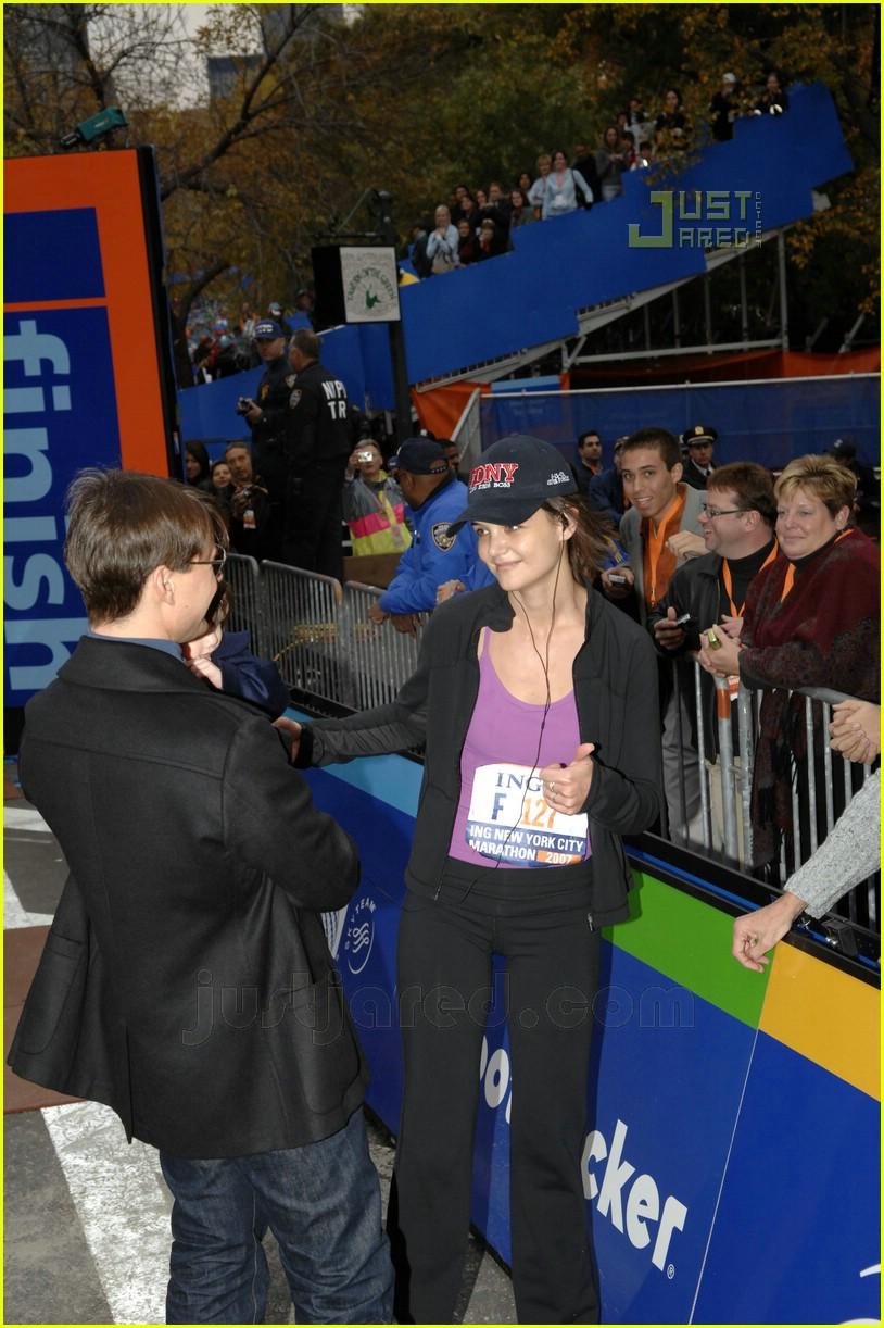 katie holmes nyc marathon victory party 15708351
