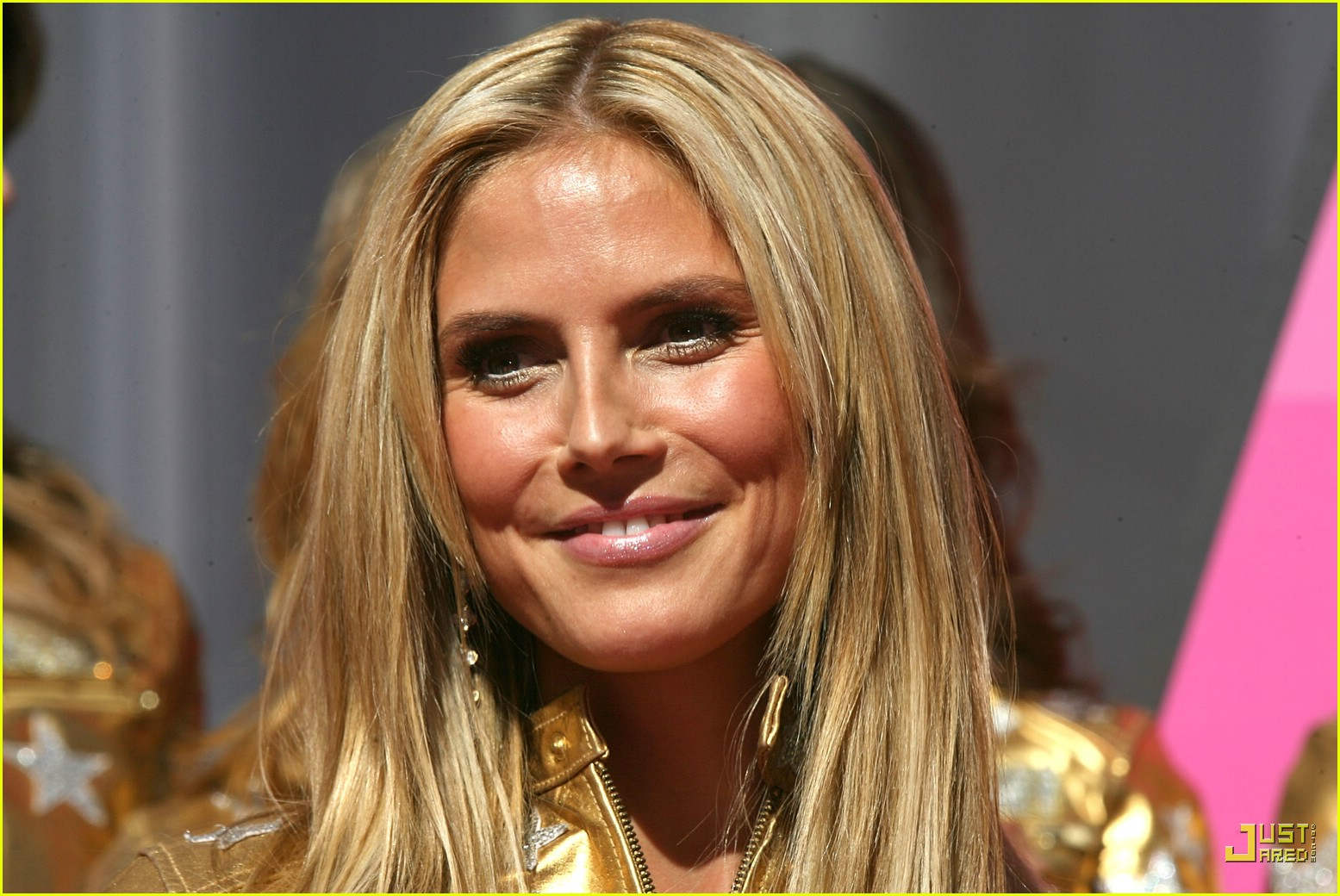 Heidi Klum Preps For Victoria's Secret Fashion Show
