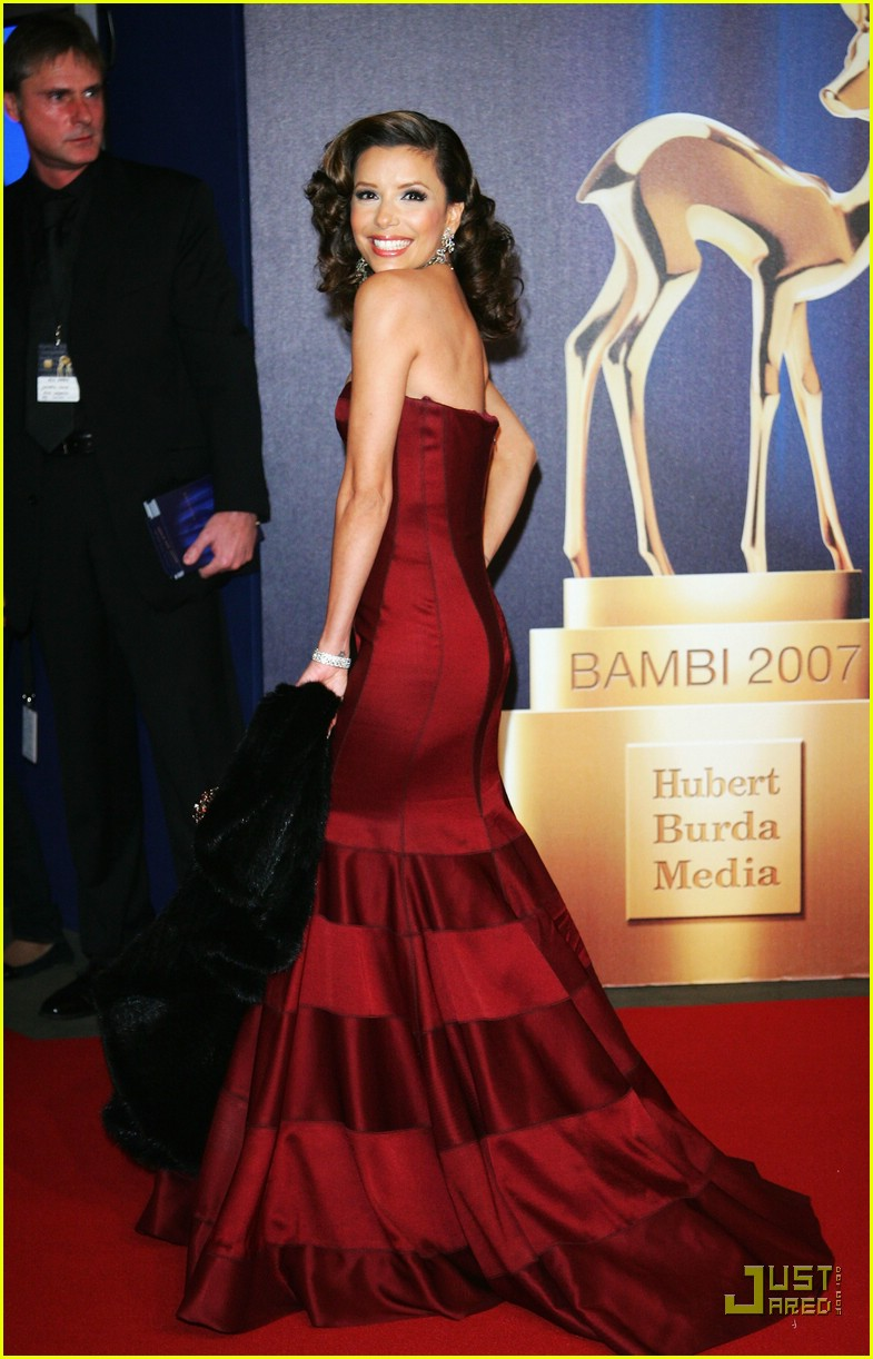 eva longoria bambi awards 2007 02