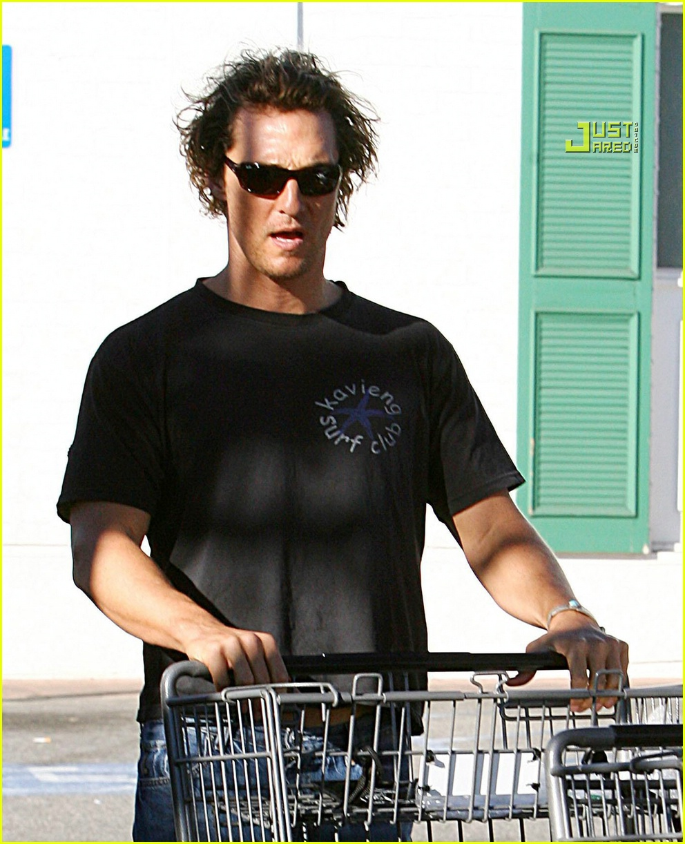 matthew mcconaughey grocery shopping 08756521