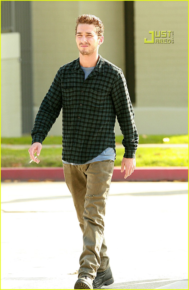 shia labeouf plaid 15757131