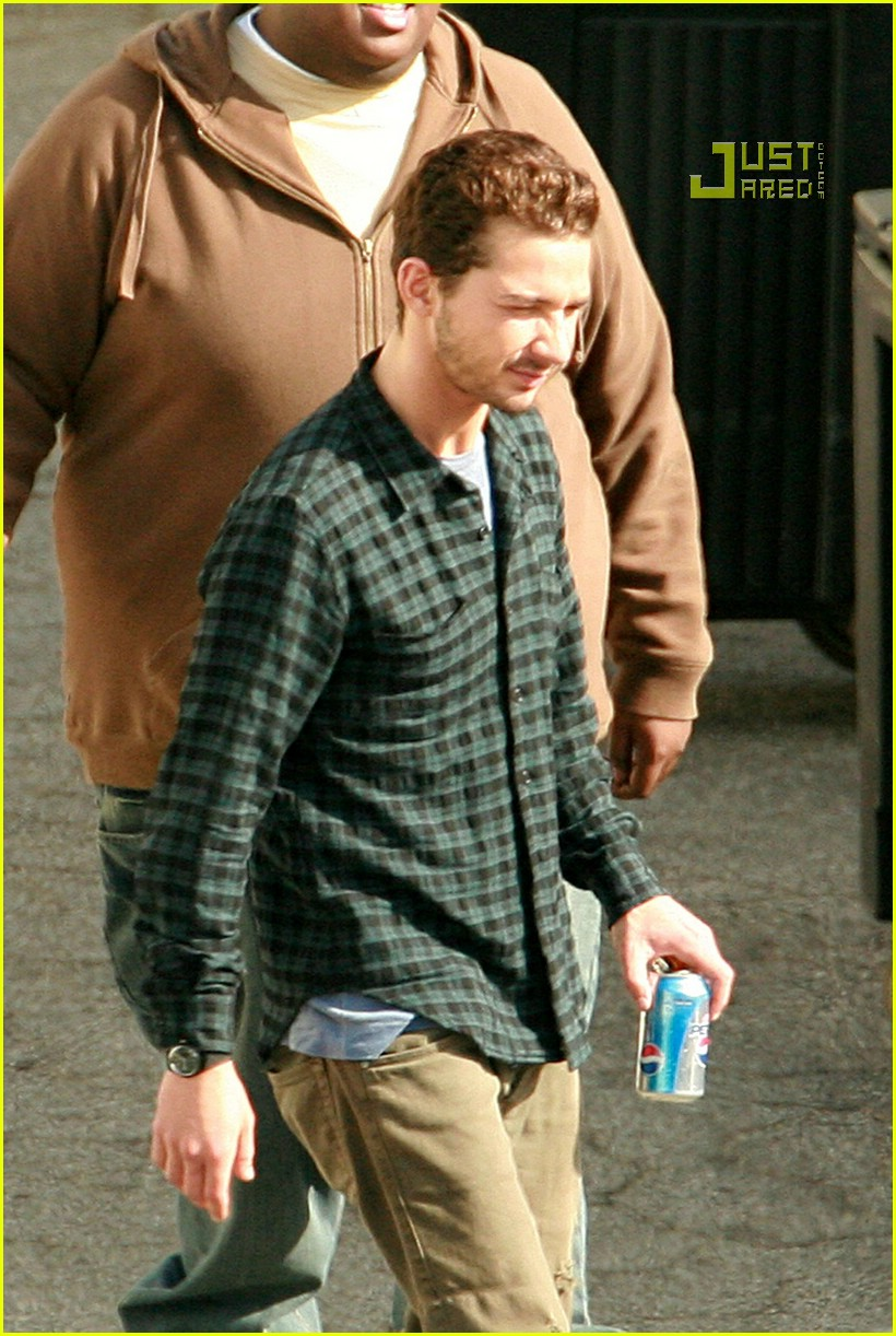 shia labeouf plaid 16757141